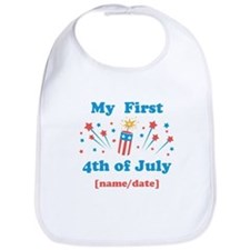 My First 4th of July Personalized Bib