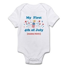 My First 4th of July Personalized Body Suit