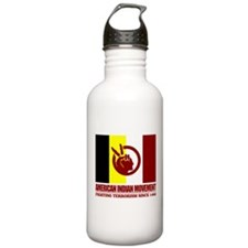 AIM (Fighting Terrorism Since 1492) Water Bottle