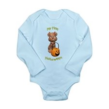 Cute New puppy Long Sleeve Infant Bodysuit
