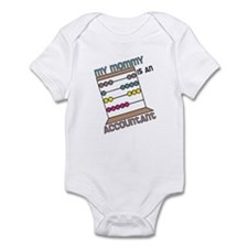 Mommy Accountant Infant Bodysuit