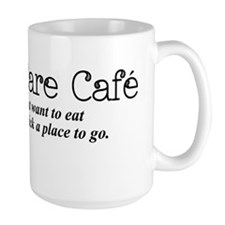 I Don't Care Cafe Mug