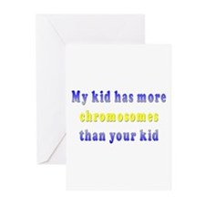 More Chromosomes Greeting Cards (Pk of 10)