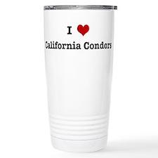 Cute California condor Travel Mug