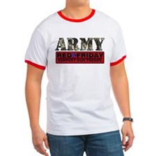 Red Friday Army T