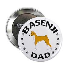 Basenji Dad Button