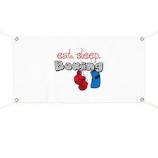 Eat Sleep Boxing Banner