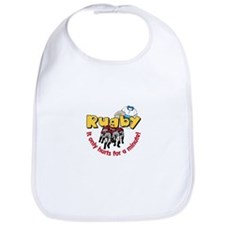 Rugby It only hurts for a minute! Bib