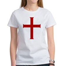 Crusader Cross (Red) Tee