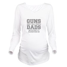 guns-dont-kill-people-fresh-gray Long Sleeve Mater