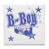 B-Boy Tile Coaster