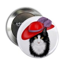 "Red Hat 2.25"" Button (10 pack)"