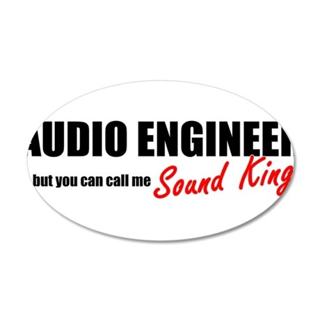Sound King 20x12 Oval Wall Decal