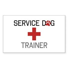 Service Dog Trainer Decal
