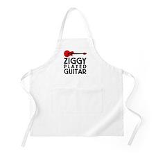 Ziggy Played Guitar Apron