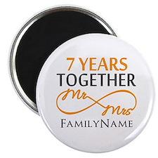 7th anniversary Magnet