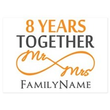 8th anniversary Invitations