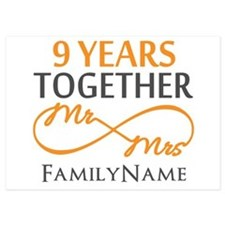 9th anniversary Invitations