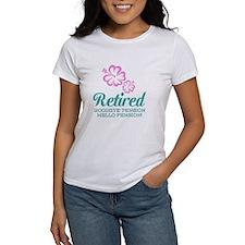 Funny Retired Tee | Goodbye Tension Hello T-Shirt