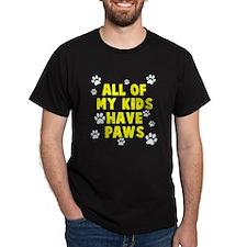 Kids paws T-Shirt