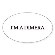 DOOL - I'm A Dimera Oval Decal