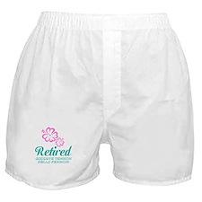 Funny retirement Boxer Shorts