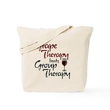 Grape Therapy Tote Bag