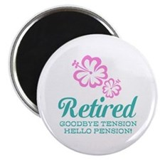 Funny retirement Magnets