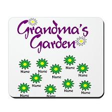 Grandmas Garden 10 Mousepad