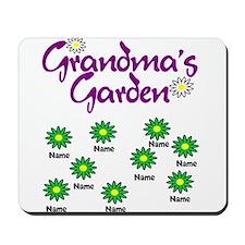 Grandmas Garden 9 Mousepad