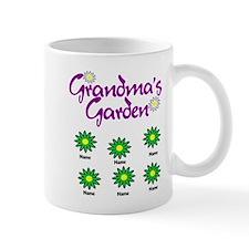 Grandmas Garden 6 Mugs