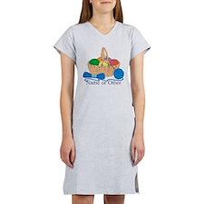 Personalized Knitting Women's Nightshirt