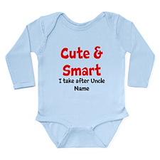 Cute & Smart Uncle Body Suit