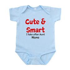 Cute & Smart Aunt Body Suit