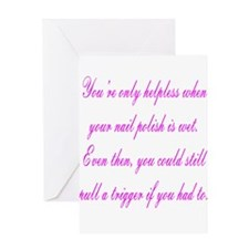Helpless Greeting Cards
