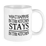 STAYS IN THE KITCHEN Coffee Mug