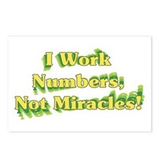 Numbers, Not Miracles Postcards (Package of 8)