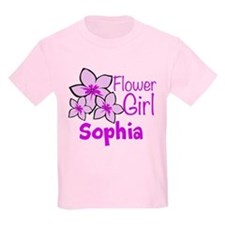 Customized Flower Girl T-Shirt