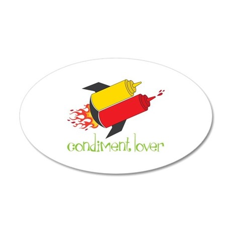 Condiment Lover Wall Decal
