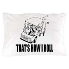 Funny Golf Quote Pillow Case