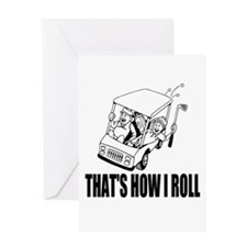 Funny Golf Quote Greeting Cards