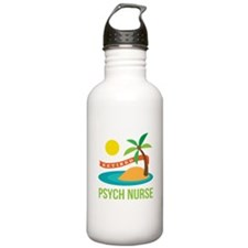 Retired Psych nurse Water Bottle