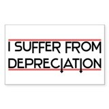 Depreciation Account Rectangle Decal