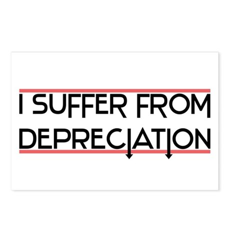 Depreciation Account Postcards (Package of 8)