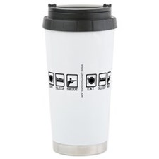 Funny Trap shooting Travel Mug