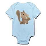 Happy Squirrel Infant Bodysuit