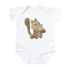 Happy Squirrel Infant Bodysuit