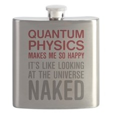 Big Bang Theory - Naked Quote Flask