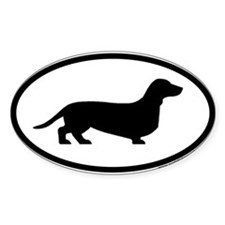Funny Dachshund Decal