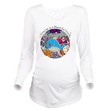 Sailing Boy Long Sleeve Maternity T-Shirt